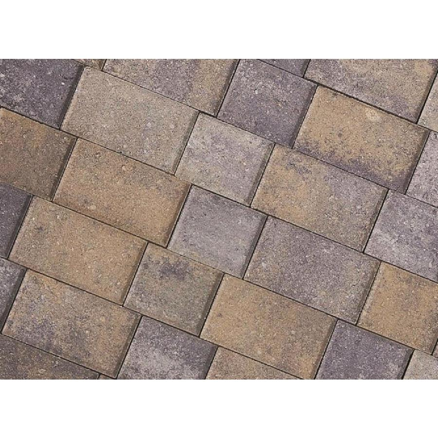 CastleLite Castle Stone Tahoe Blend Paver (Common: 8-in x 11-in; Actual: 8-in x 11-in)