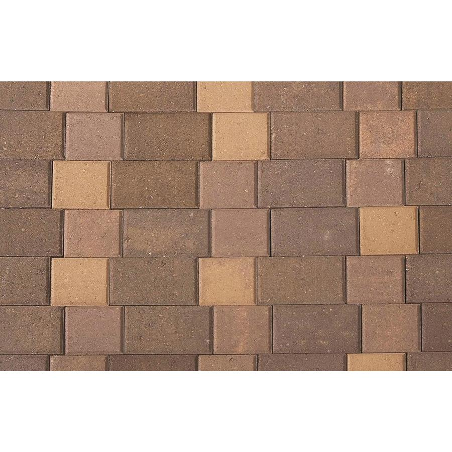 CastleLite Castle Stone Mojave Blend Paver (Common: 6-in x 9-in; Actual: 5.5-in x 8-in)