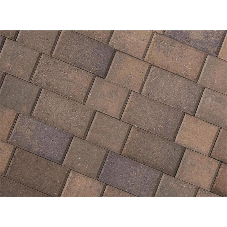 CastleLite Castle Stone Monterey Blend Paver (Common: 6-in x 9-in; Actual: 5.5-in x 8-in)
