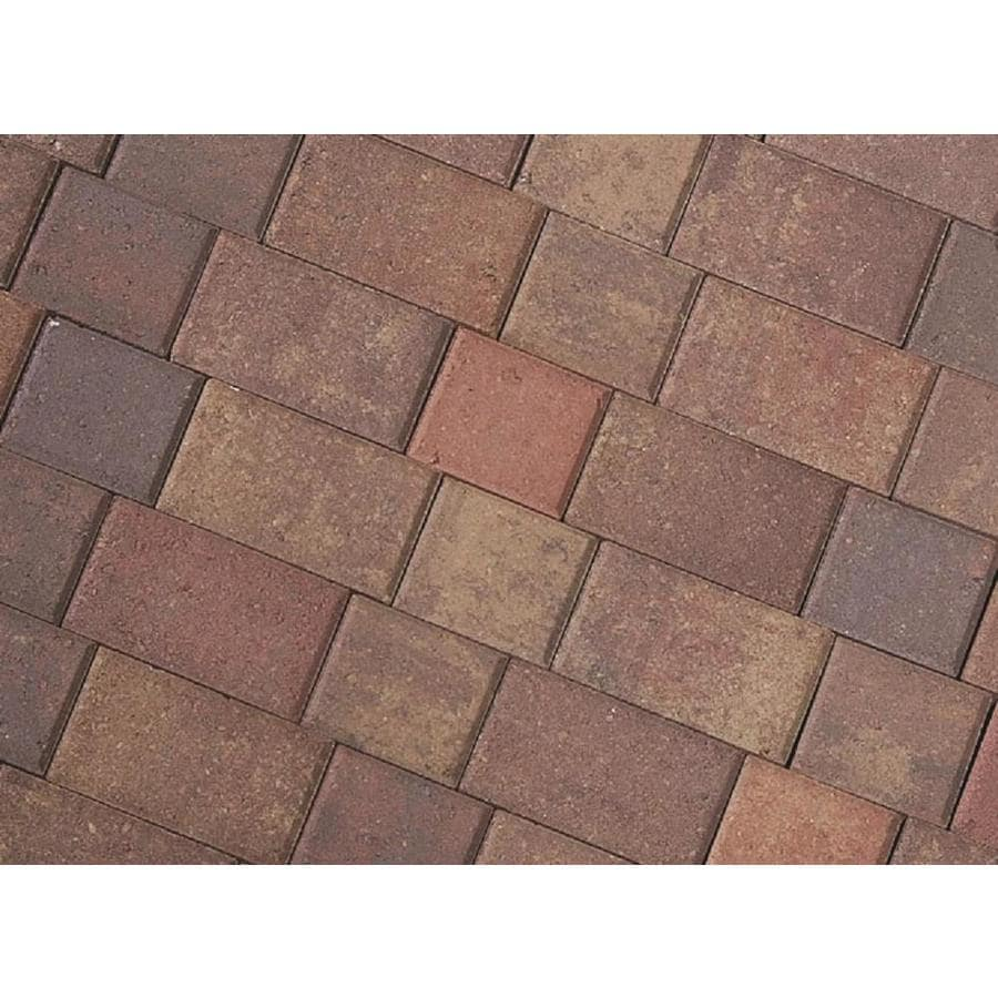 CastleLite Castle Stone Sonoma Blend Paver (Common: 6-in x 9-in; Actual: 5.5-in x 8-in)