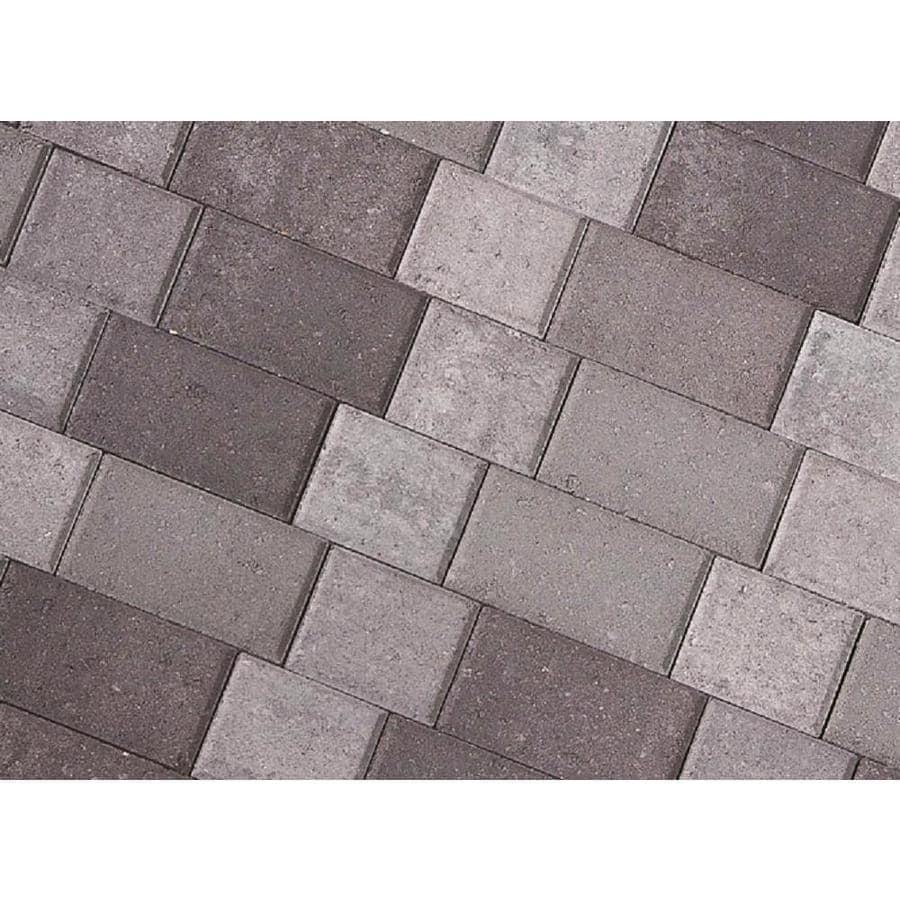 CastleLite Shasta Blend Castle Stone Paver (Common: 8-in x 11-in; Actual: 8-in x 11-in)