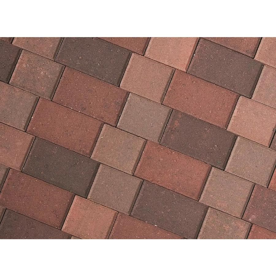 Attirant CastleLite Castle Stone Napa Blend Concrete Paver (Common: 6 In X; Actual