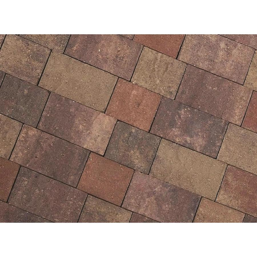 CastleLite Century Stone Sonoma Blend Paver (Common: 6-in x 9-in; Actual: 5.5-in x 8-in)
