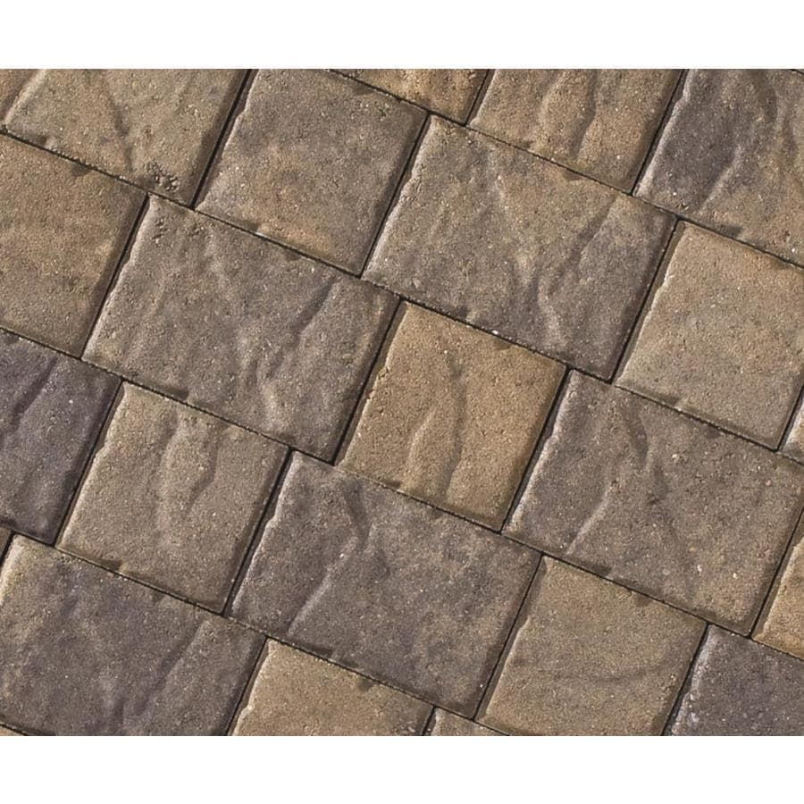 CastleLite Carriage Stone Tahoe Blend Paver (Common: 8-in x 11-in; Actual: 8-in x 11-in)