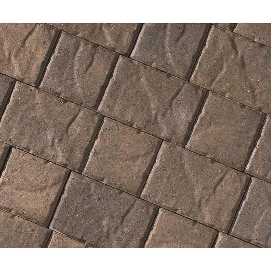 CastleLite Carriage Stone Monterey Blend Paver (Common: 8-in x 11-in; Actual: 8-in x 11-in)