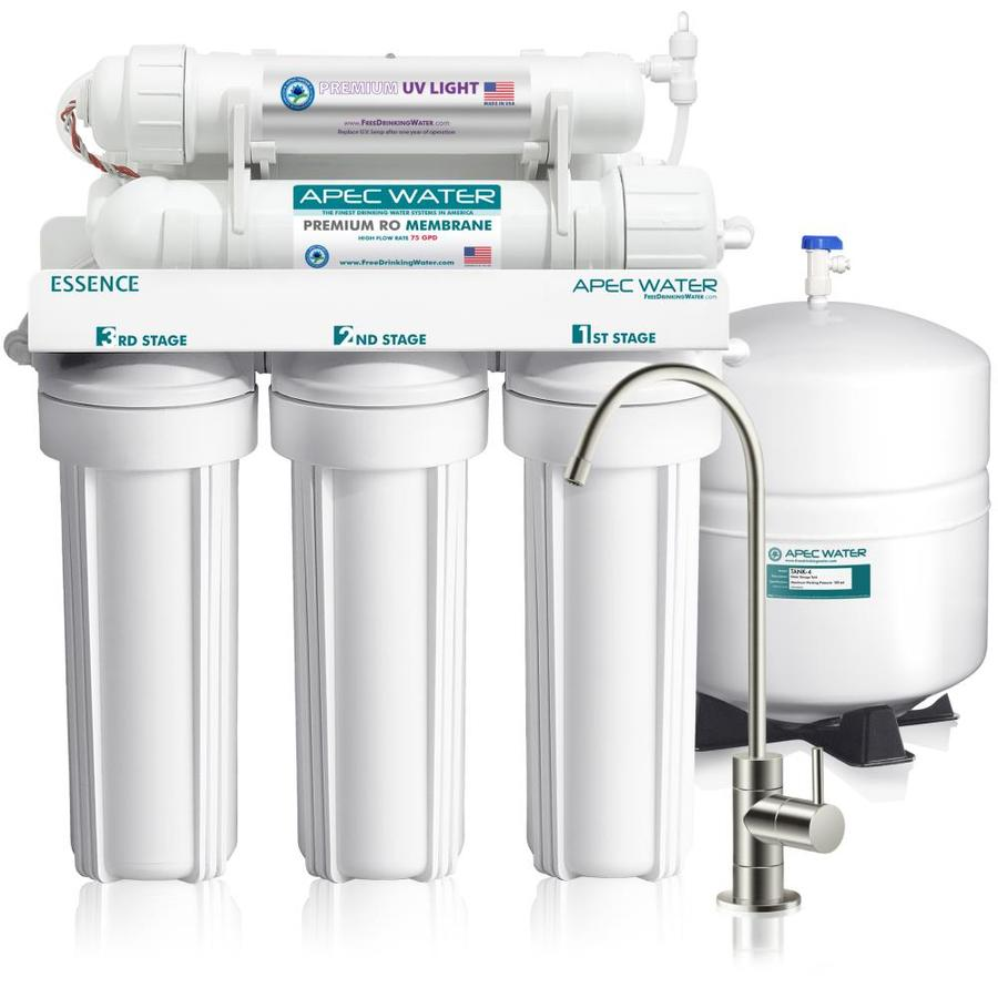 Apec Water Uv Sterilizer 75 Gpd 6 Stage Reverse Osmosis