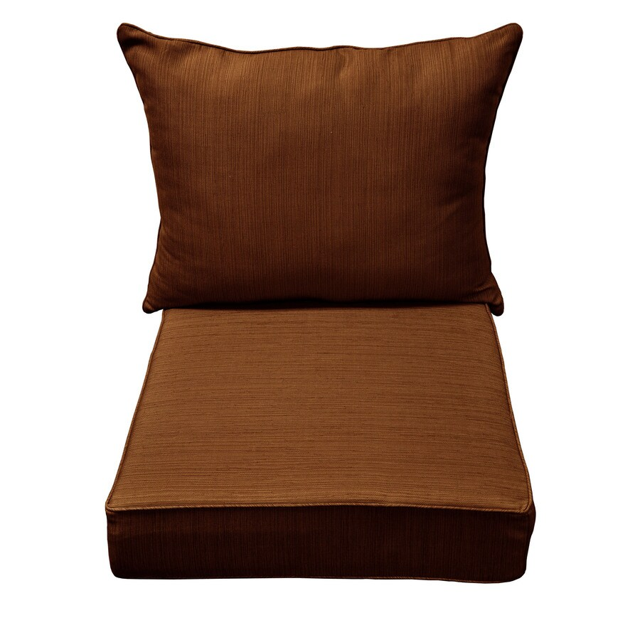 allen + roth Rust Texture Cushion For Universal