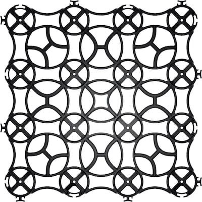 Gravalock Slim Grid Black Natural Stone Interlocking