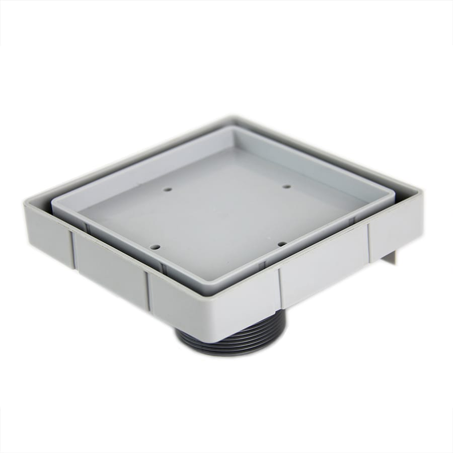 QuARTz by ACO Gray Plastic Floor Drain