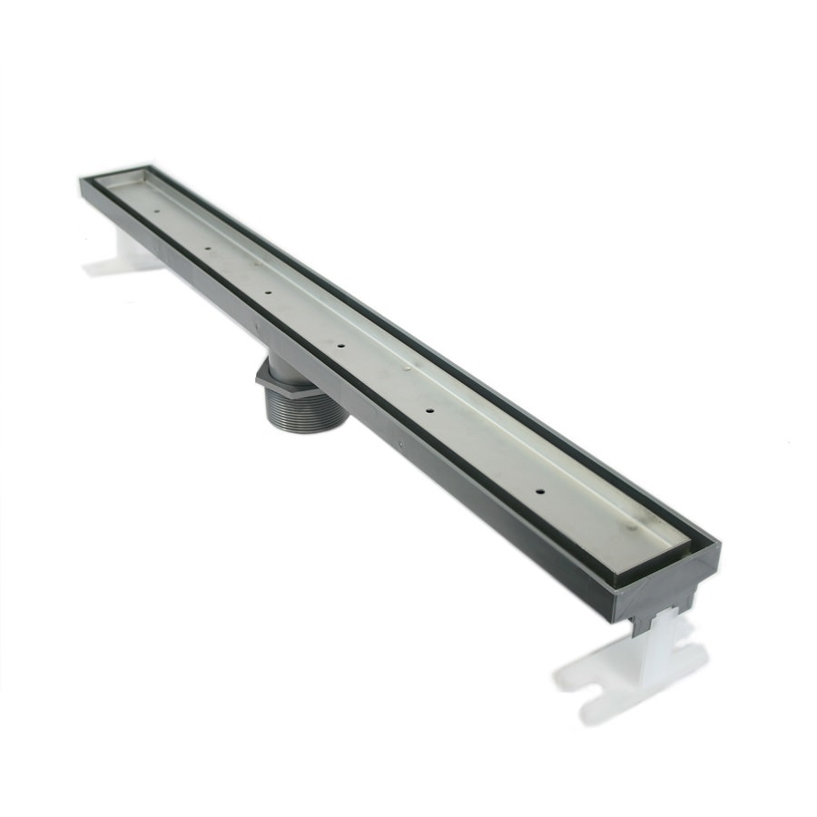 QuARTz by ACO 27-in Gray Plastic Floor Drain