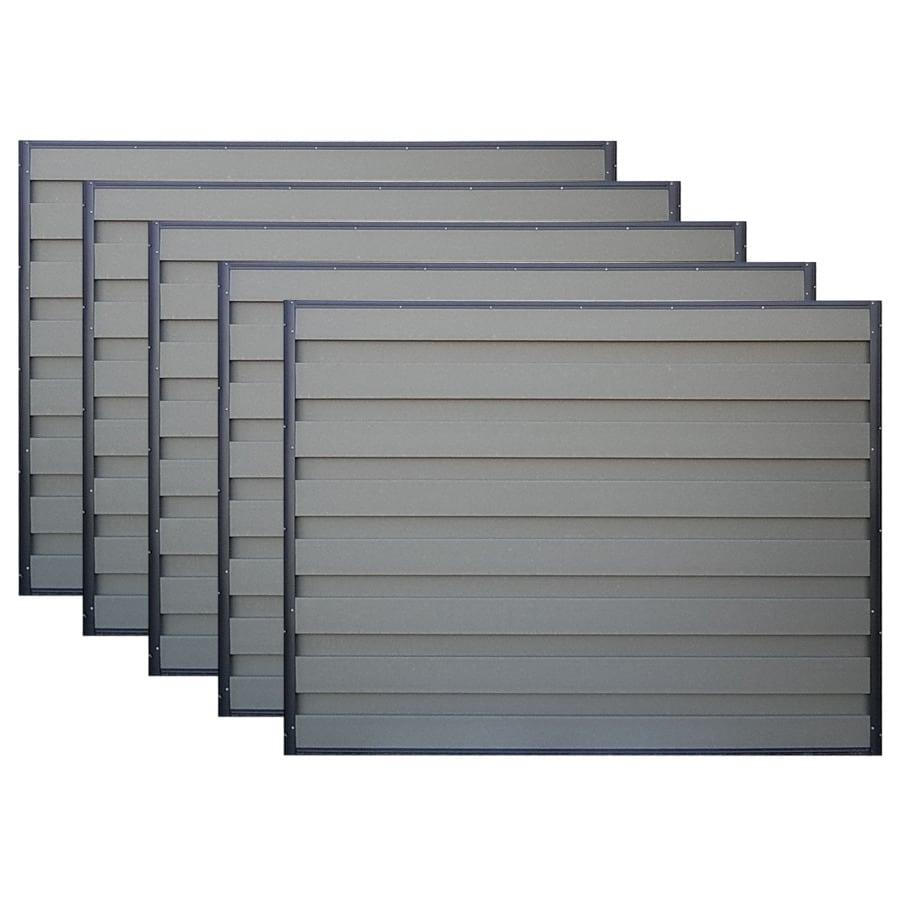 trex fencing actual 6 ft x 8 ft horizons 5 pack. Black Bedroom Furniture Sets. Home Design Ideas
