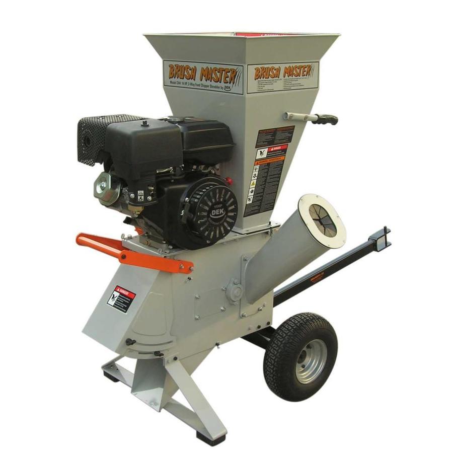 Brush Master Heavy Duty 270cc Chromium Gas Wood Chipper
