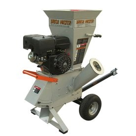 Brush Master Heavy Duty 420cc Chromium Gas Wood Chipper