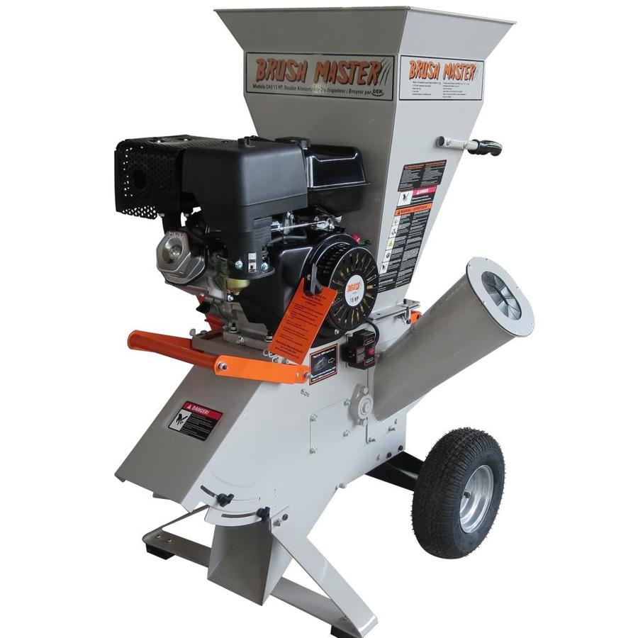 Brush Master Electric Start 420cc Chromium Gas Wood Chipper