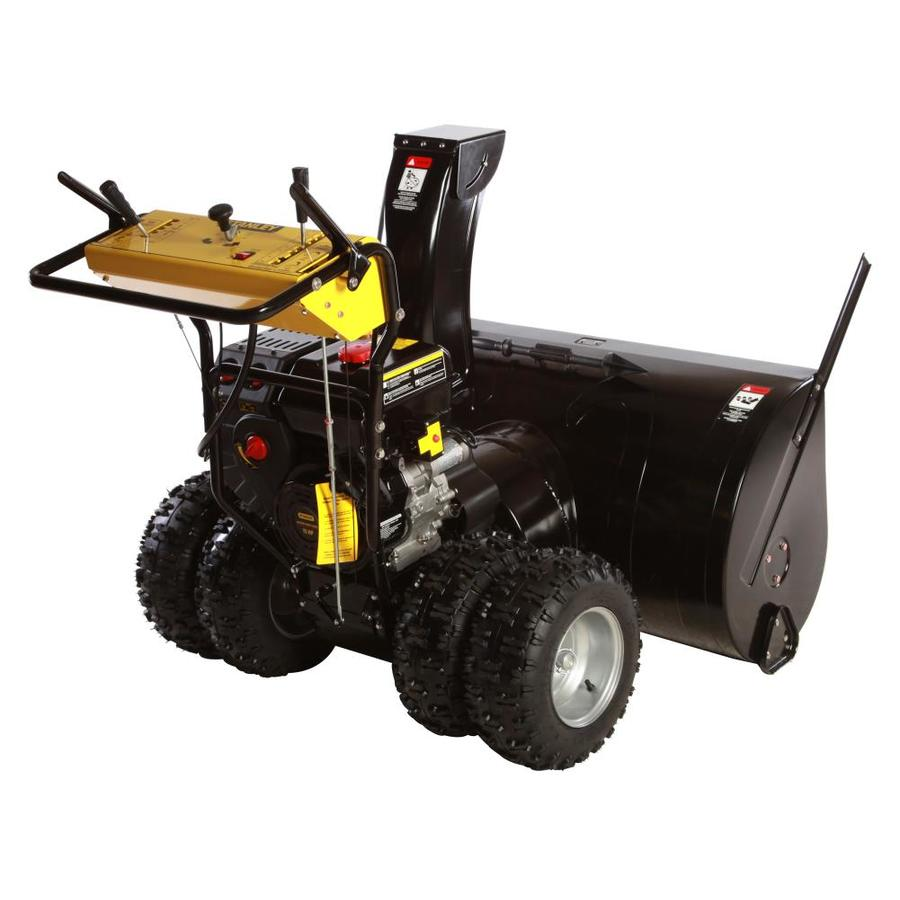 DEK Commercial 420cc 45-in Two-Stage Electric Start Gas Snow Blower with Headlight
