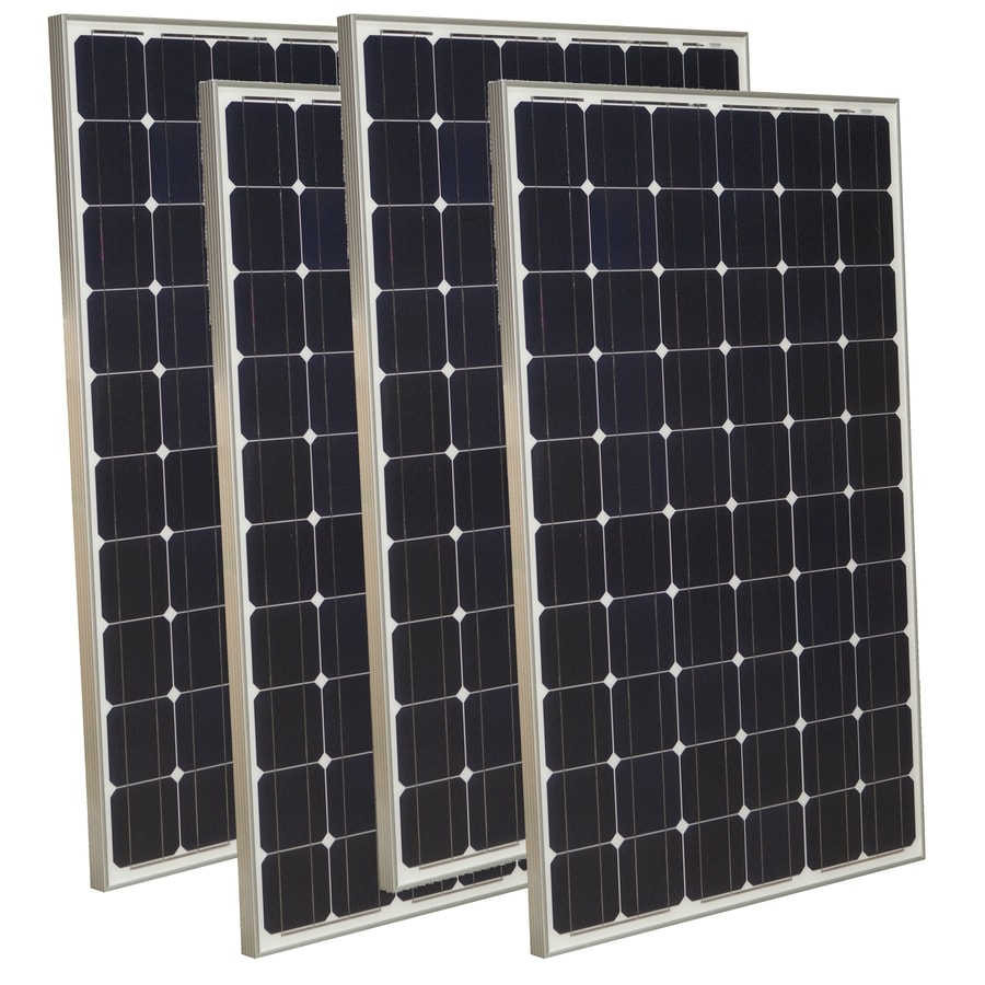Grape Solar 4-Module 64.6-in x 39-in 265-Watt Solar Panel