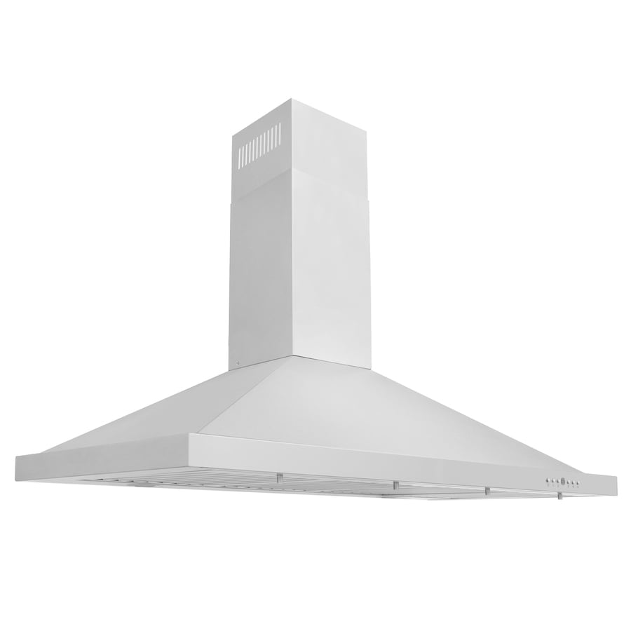 ZLINE KITCHEN & BATH Ducted Wall-Mounted Range Hood (Brushed 430 Stainless Steel) (Common: 48-in; Actual: 48-in)