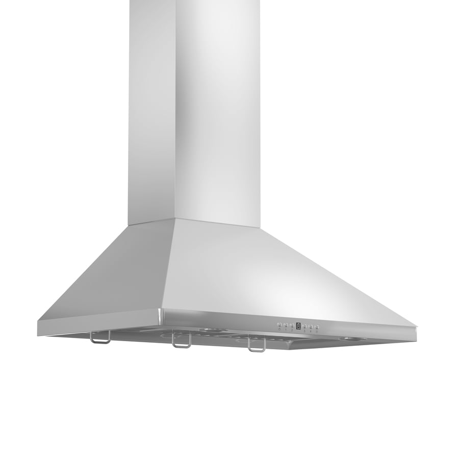 ZLINE KITCHEN & BATH Convertible Wall-Mounted Range Hood (Brushed 430 Stainless Steel) (Common: 30-in; Actual: 30-in)