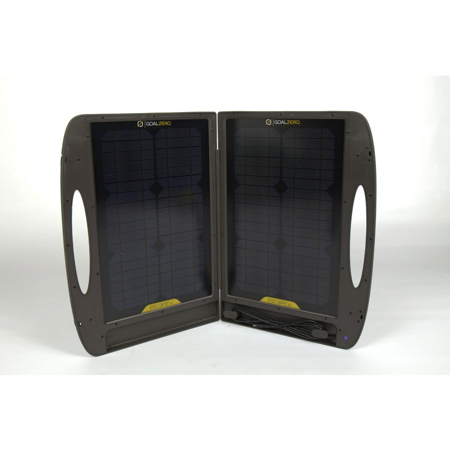 GOAL ZERO Escape 21-in x 2-in x 16-in 30-Watt Portable Solar Panel
