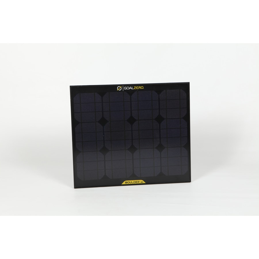 GOAL ZERO Extreme 21-in x 1-in x 18-in 30-Watt Portable Solar Panel