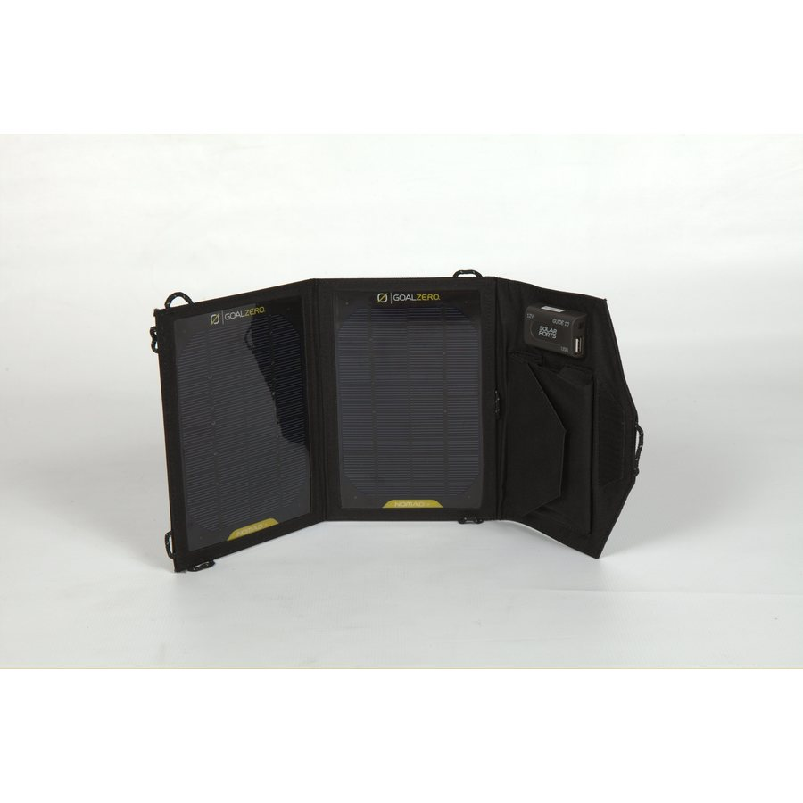 GOAL ZERO Nomad 6-1/2-in x 1-in x 9-1/2-in 7-Watt Portable Solar Panel