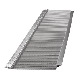 Atlas By Gutterglove 5 In Gutter Guard 32 Ft Ds In The Gutter Guards Department At Lowes Com