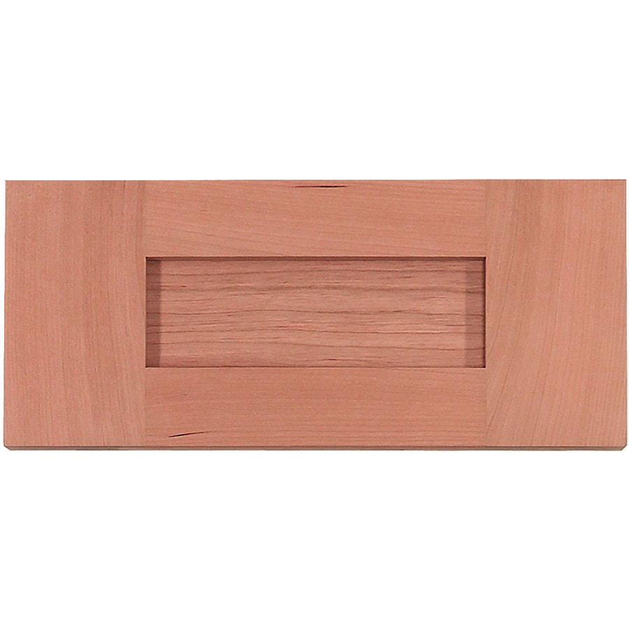 Surfaces 22-in W x 5.75-in H x 0.75-in D Cherry Cabinet Drawer Front