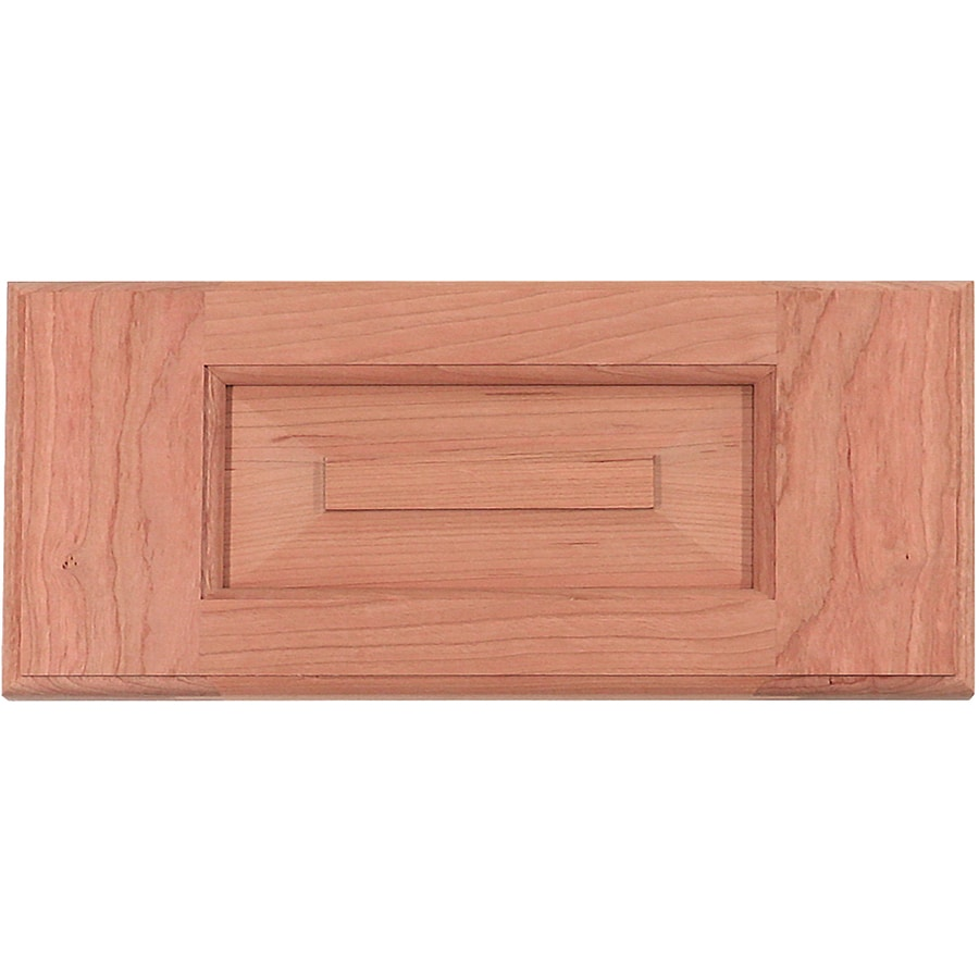 Surfaces 16-in W x 6-in H x 0.75-in D Cherry Cabinet Drawer Front