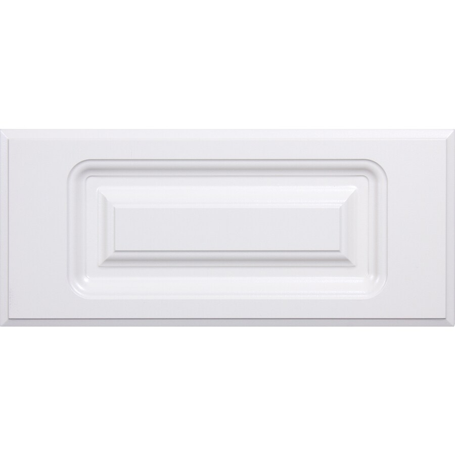 Surfaces 10-in W x 5.75-in H x 0.75-in D Rigid Thermofoil Cabinet Drawer Front