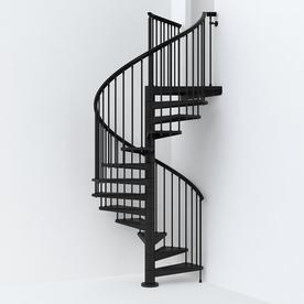Arke SKY030 63 In X 10 Ft Spiral Staircase Kit