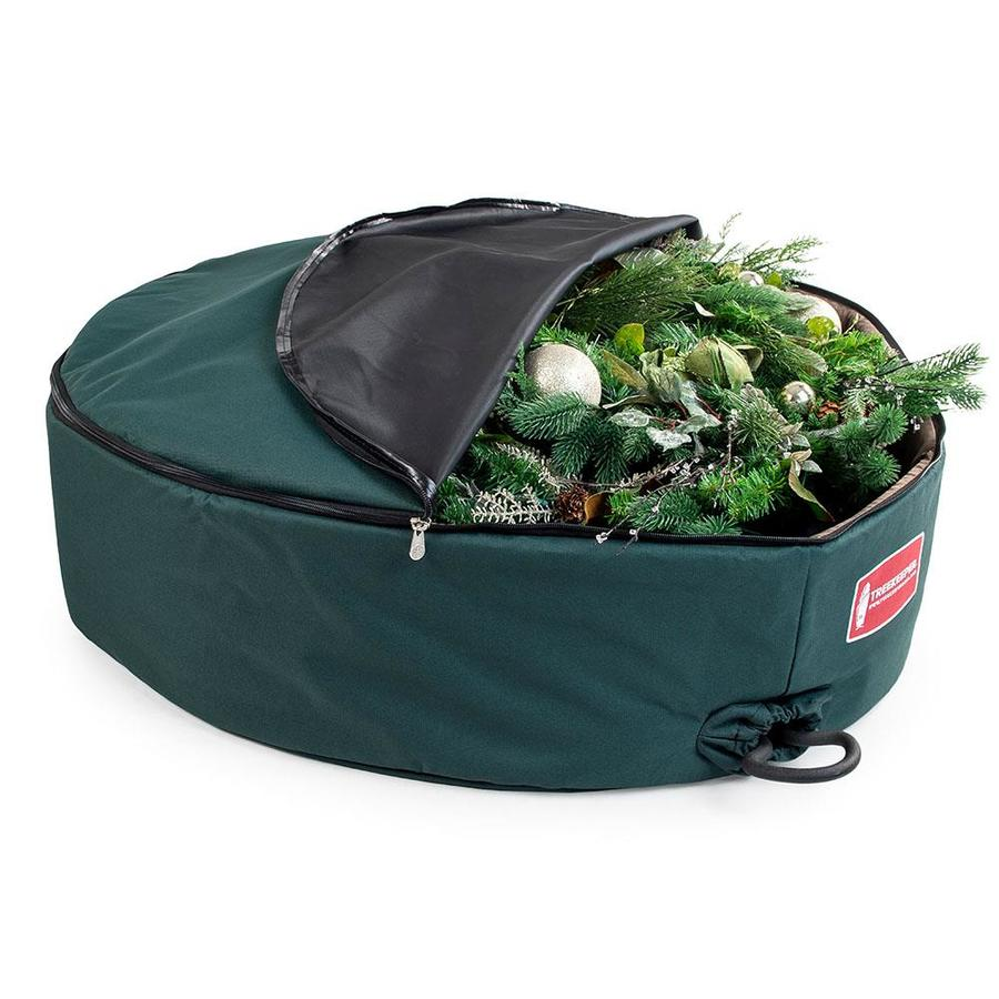 TreeKeeper 36-in x 6-in Polyester Wreath Storage Container ...