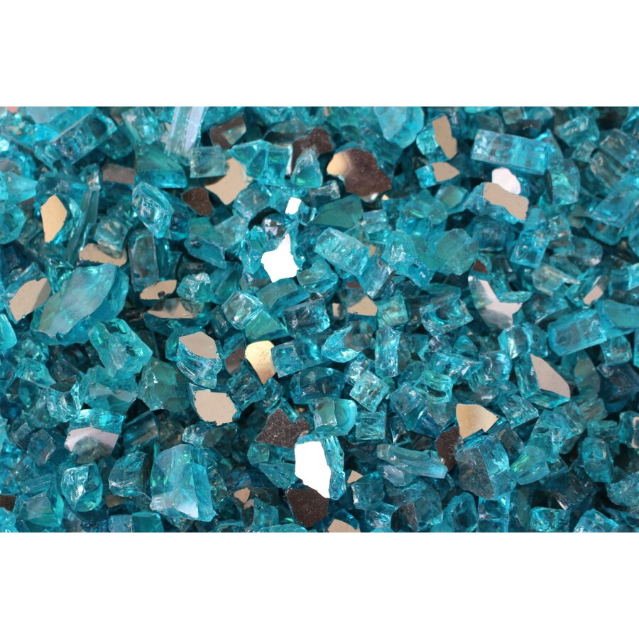Exotic Glass Teal Glass Fire Glass