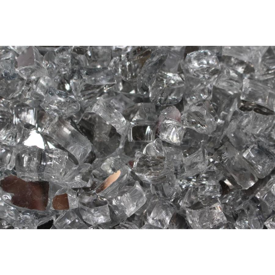 Exotic Glass Silver Glass Fire Glass
