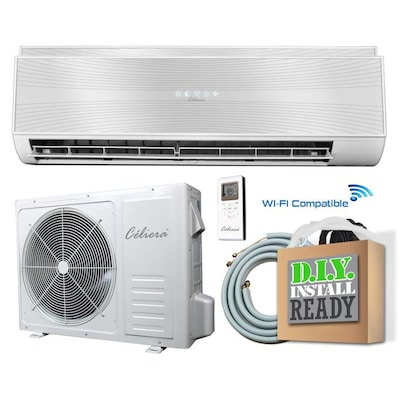 Celiera Gwx 12500 Btu 540 Sq Ft Single Ductless Mini Split Air Conditioner With Heater At Lowes Com