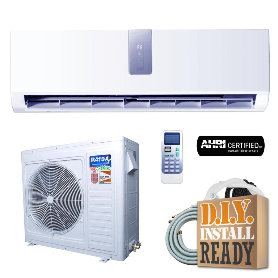 Celiera Gwi 24000 Btu 1200 Sq Ft Single Ductless Mini Split Air Conditioner With Heater At Lowes Com