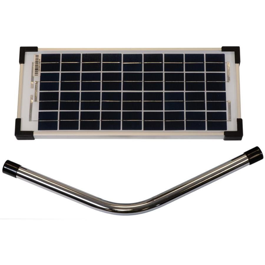 Ghost Controls 10watt Solar Panel Kit In The Driveway Gate Opener Accessories Department At Lowes Com