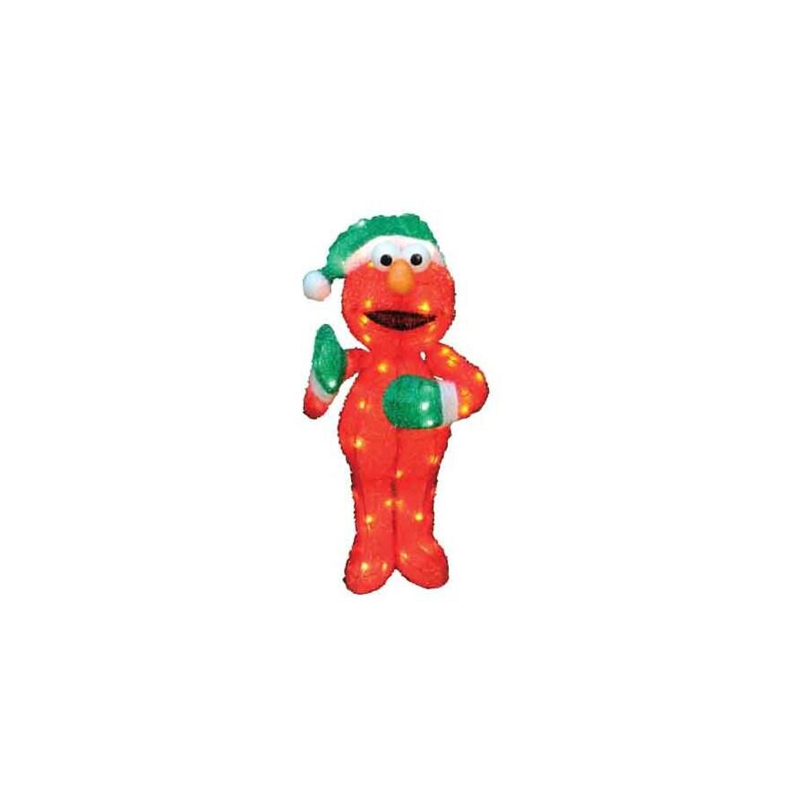 Sesame Workshop 2.62-ft Tinsel Sesame Street Christmas Elmo