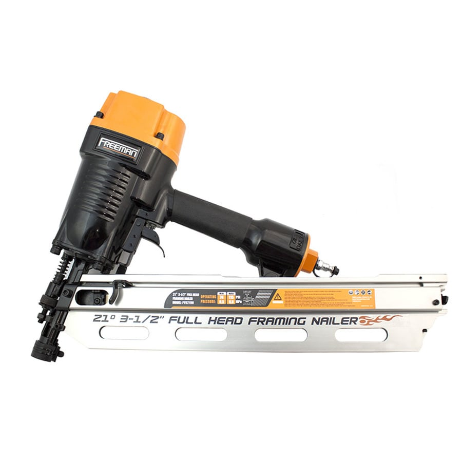 FREEMAN 20-Gauge Clip Head/Roundhead Framing Pneumatic Nailer