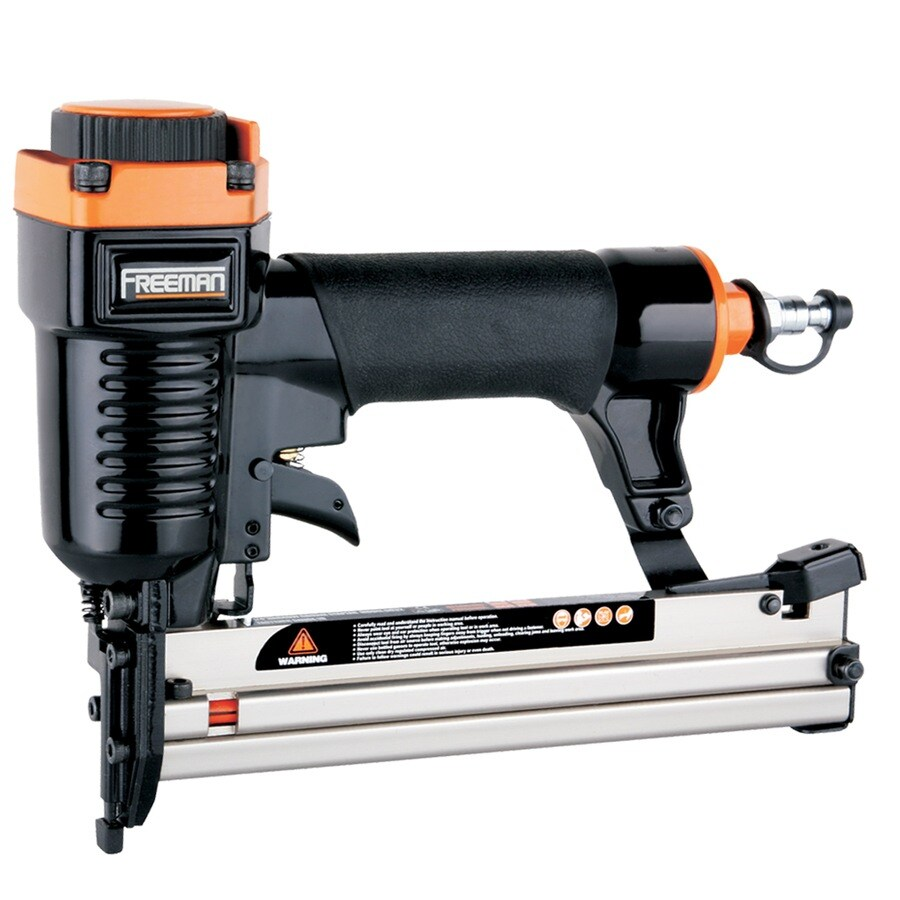 FREEMAN 18-Gauge 1/4-in Crown Pneumatic Stapler