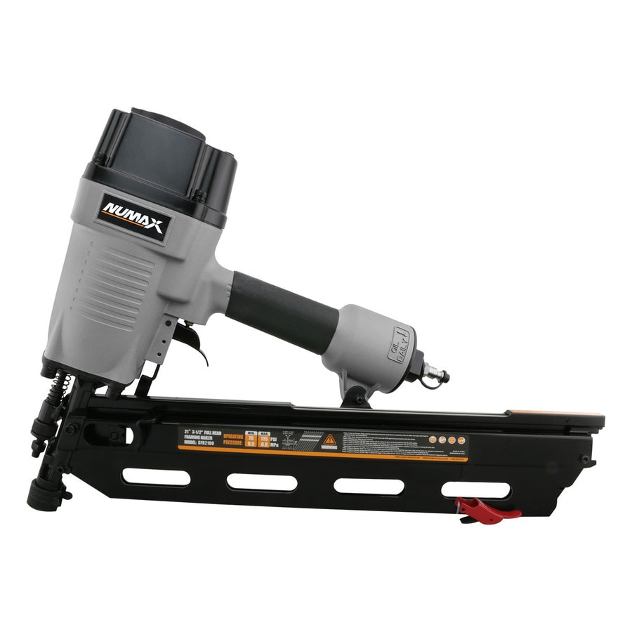 Numax 21 Degree Full Round Head 3 5 In 21 Degree Pneumatic Framing Nailer In The Nailers Department At Lowes Com
