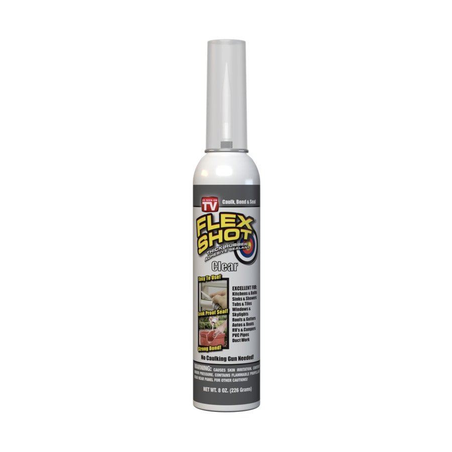 Flex Shot 8-oz Clear  Caulk