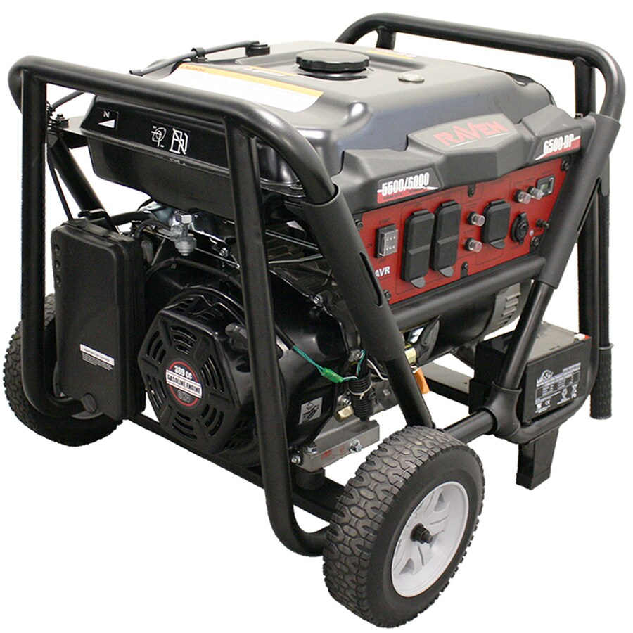 Raven 5,500-Running-Watt Portable Generator with Rato Engine