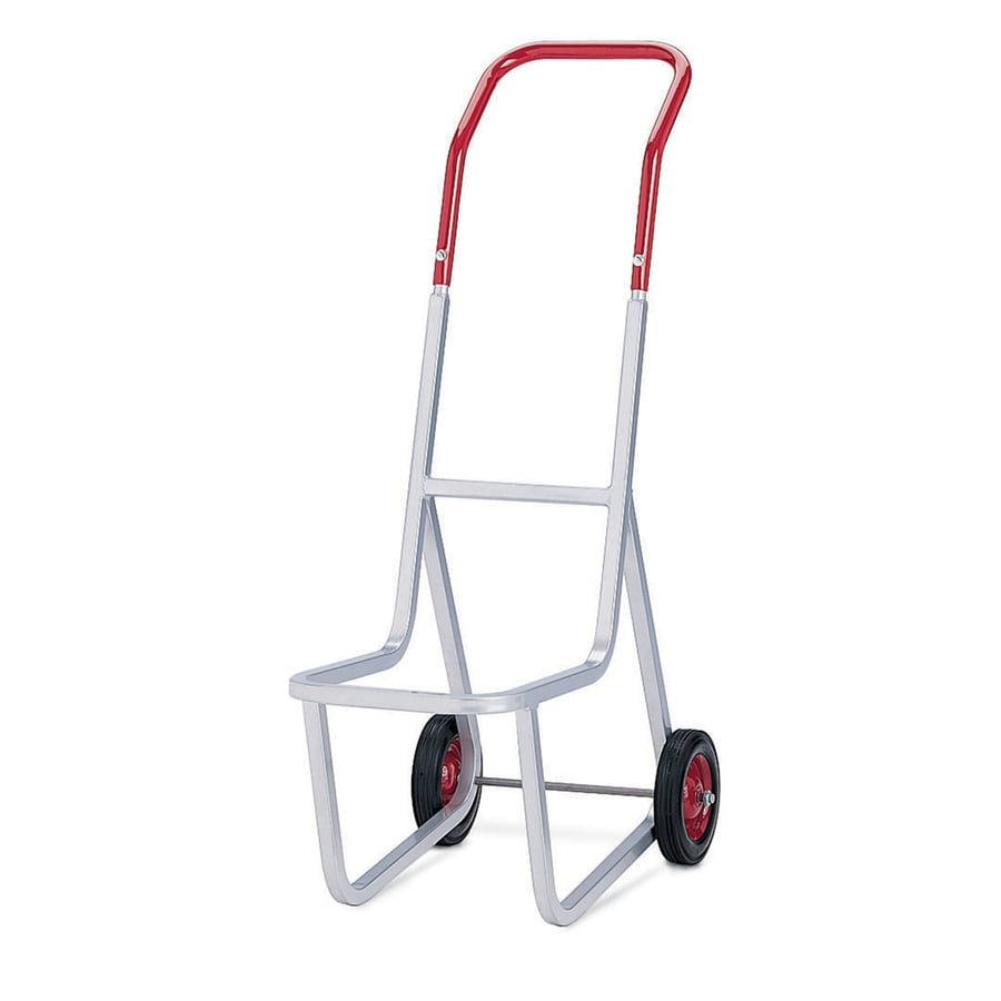 Charming 240 Lb Capacity Red Steel Dolly