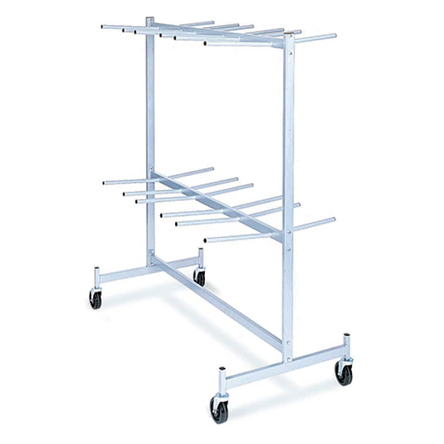 800-lb Capacity White Steel Convertible Hand Truck