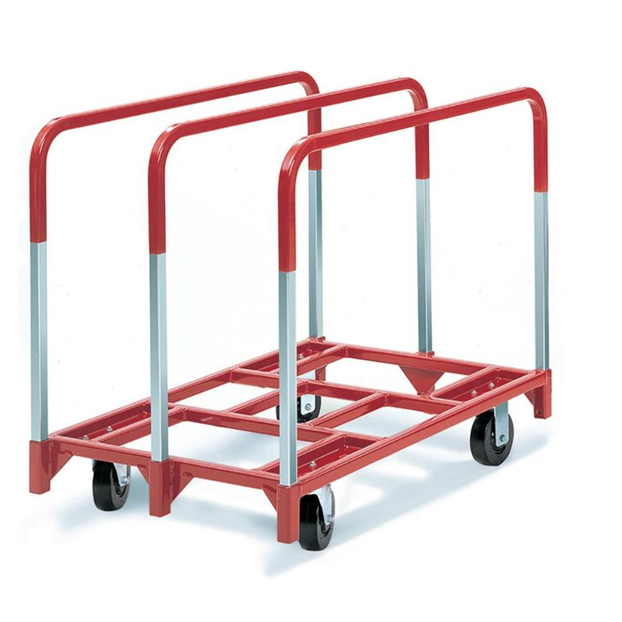 2,400-lb Capacity Red Steel Dolly