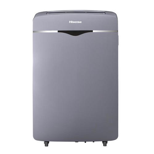 Hisense 300 Sq Ft 115 Volt Gray Portable Air Conditioner