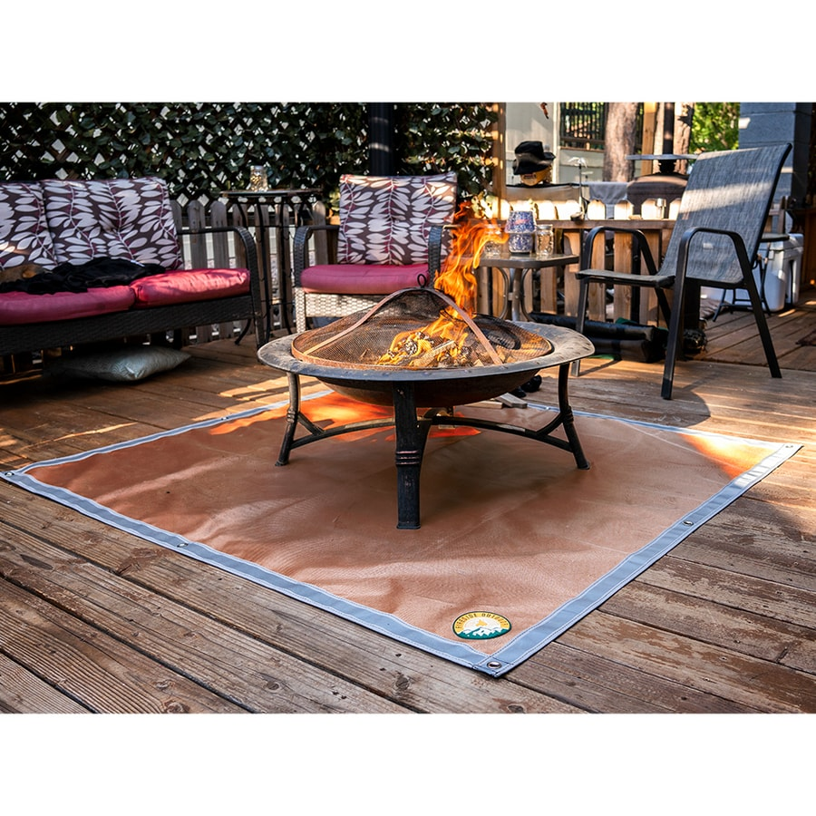 Fire Pit Mats At Lowes Com