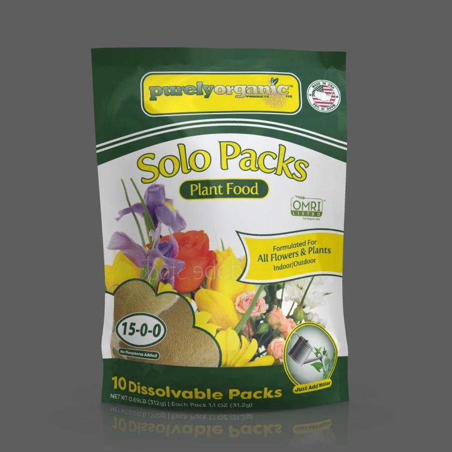 Purely Organic Products All purpose plant food 10 Count ...