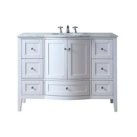 Marilyn 48 Inch Bathroom Sink Vanity Cabinet