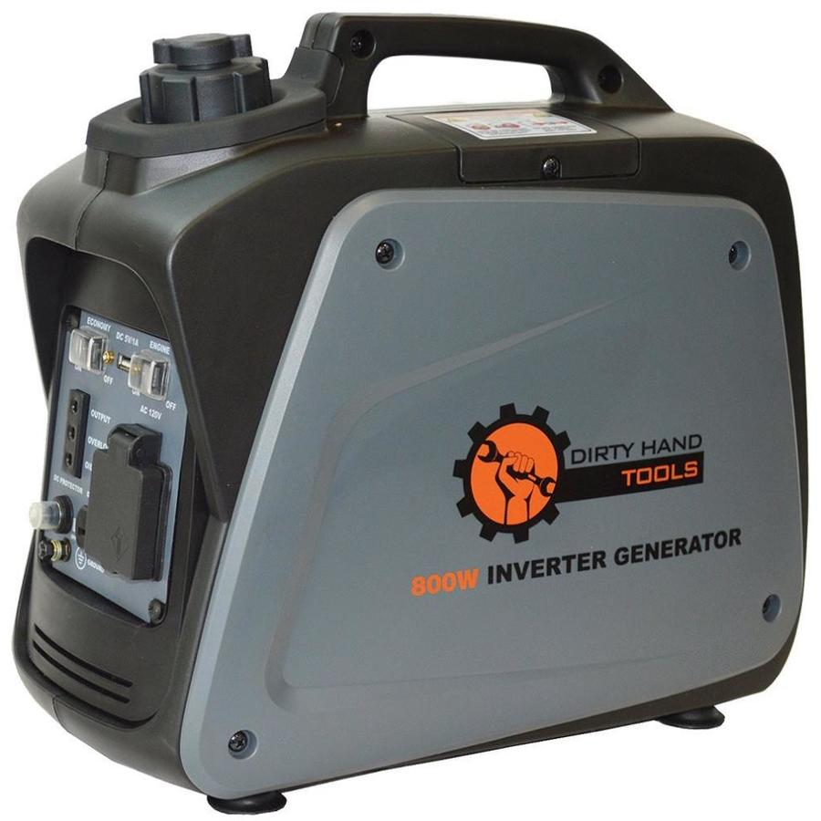 Dirty Hand Tools 700-Running Watts Inverter Portable Generator with OEM Engine
